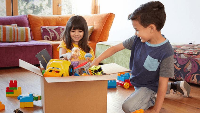 Reciclaje de juguetes de plástico