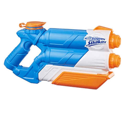 Pistola Nerf Supersoaker Twin Tide